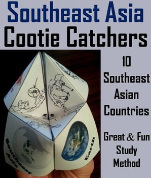 Southeast Asia Activity (World Geography Unit: Map Skills Game)