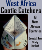 West Africa Activity (World Geography Unit: Map Skills Game)