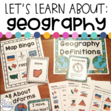 Geography Activities for Special Education