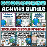 Geography Activity Bundle