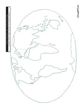 Geography Activity - Continents Quiz
