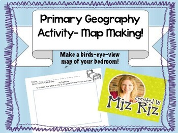 Primary Geography Activity- Birds Eye View Map!