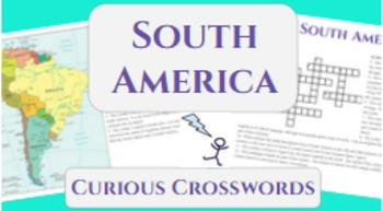 Geography Activity- South America