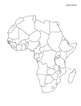 Geography: Africa Scavenger Hunt