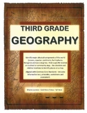 Geography - Aligned with Common Core Standards - Recognize and Use a Map Key