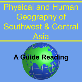 Guided Reading for Geography of Southwest & Central Asia