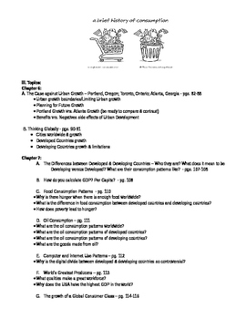 Geography Alive: Unit 2 Test (Chapter 5,6 & 7) Review Sheet