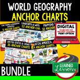Geography Anchor Charts BUNDLE (World Geography Bundle), G