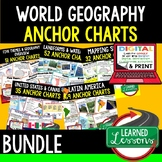 Geography Anchor Charts BUNDLE (World Geography Bundle), G