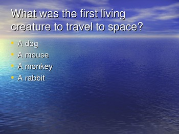 Geography/ Animals / Culture Trivia and Slideshow