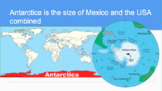 Geography Antarctica Powerpoint and Notes