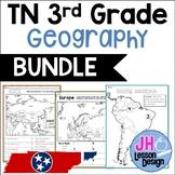 Geography BUNDLE: TN Social Studies Standards