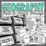 Geography Back to School Bundle