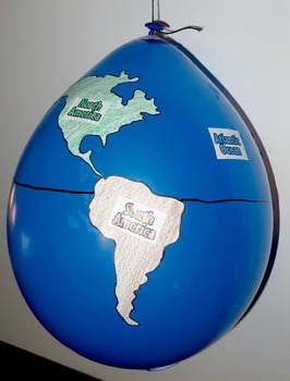 Geography balloon globes world maps by learning lab tpt geography balloon globes world maps gumiabroncs Choice Image