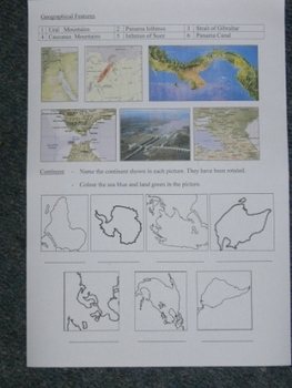 Geography Basics - Continents