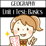 Geography Basics Test
