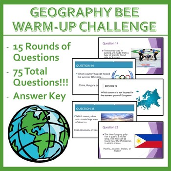 Geography Bee Challenge - Set Five