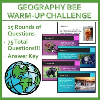 Geography Bee Challenge - Set Four