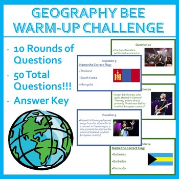 Geography Bee Challenge - Set One (HARD)