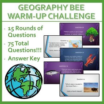 Geography Bee Challenge - Set Six