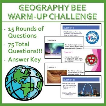 Geography Bee Challenge - Set Three