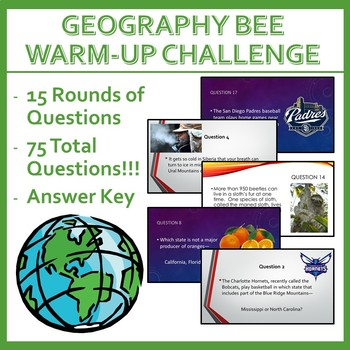 Geography Bee Challenge - Set Two