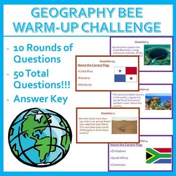 Geography Bee Challenge - Set Two (HARD)