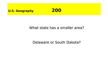 Geography Bee Review