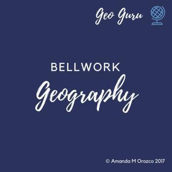 Geography Bellwork