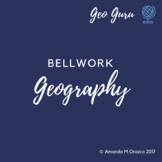 Geography Bellwork