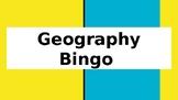 Geography Bingo
