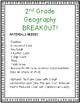Geography Breakout EDU