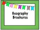 Geography Brochure project