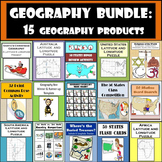 Geography Bundle: 15 Different Geography Products