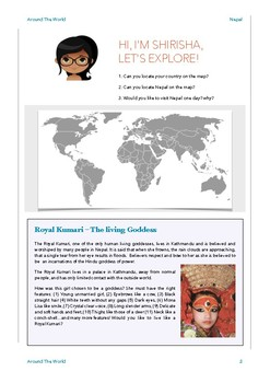 Geography Bundle - Nepal + Greece + South Africa - 3 in 1