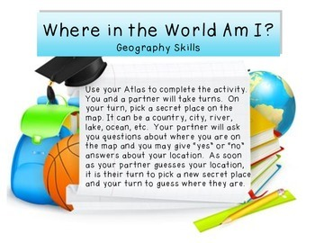 Geography Center - Atlas Practice