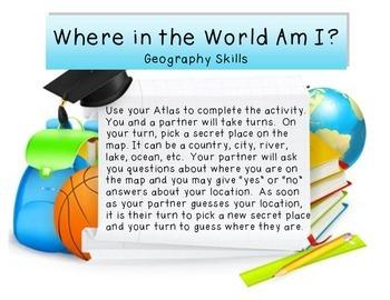Geography Center - Atlas Practice