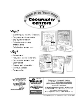 Geography Centers, Grades 2-3