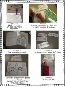 Geography Centers and Stations