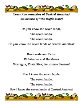 Geography: Central America song