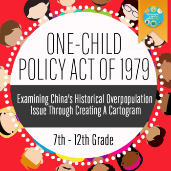 Geography: China's One Child Policy: Population Comparison Cartogram