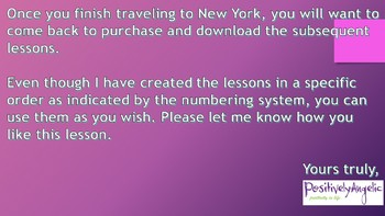 Geography Class 4, New York