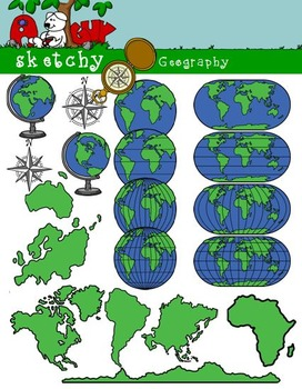 Geography Clipart  Graphics