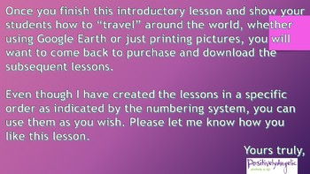 Geography Class 1, Introduction