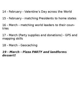 Geography Club Meeting Theme Ideas