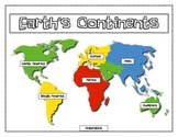 Geography: Continents, oceans, equator, hemispheres, poles Unit