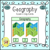 Geography Clip Task Cards