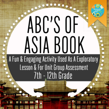 Geography: Create an ABC Asia Book