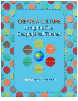 Geography: Creating a Culture Using Five Geographical Themes