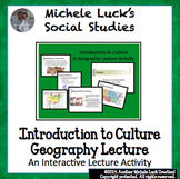Geography & Culture Introduction to Culture Powerpoint
